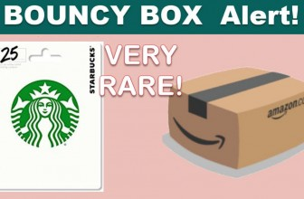 VERY RARE Gift Card Bouncy BOX! RUNNNNN!