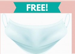 "Free "" Stink Stopper "" Facemask!"