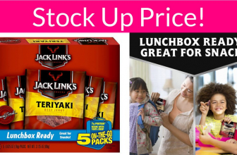 Great Stock Up Deal for Beef Jerky Lovers!