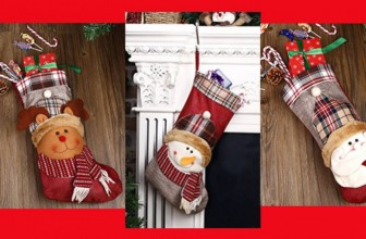 Adorable Christmas Stocking – ONLY $4.03 SHIPPED! 80% OFF!
