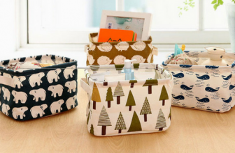 Linen Storage Boxes Only $2.79 Shipping Is Free