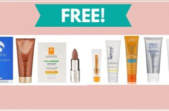 FREE LUXURYBeauty Sun Care Sample BOX!