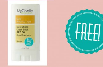 Get a FREE Sunscreen Stick [ Valued at $12 ]