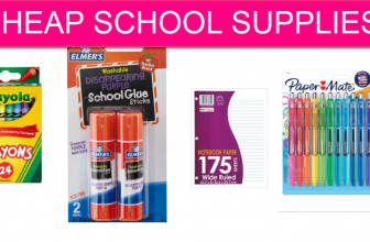 School Supplies – Up to 80% off and FREE Pick Up! *Add'l Savings for Teachers!*