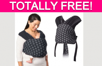 Totally Free Infantino Knit Baby Carrier!