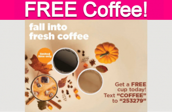 Totally Free Cup of Coffee!