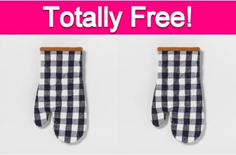 Totally Free Oven Mitt!