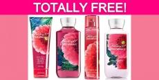 FREE Bath & Body Works Products!