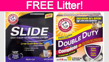 Totally Free Arm & Hammer Cat Products!