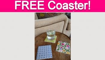 Totally Free Tile Coaster!