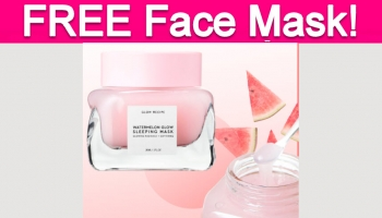 Totally Free Watermelon Face Mask!