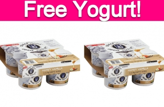 Totally Free Greek Gods Yogurt!