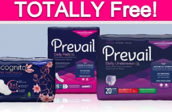 TODAY ONLY! Totally Free Prevail Product!