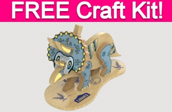 Free Triceratops Kit at Lowe's!