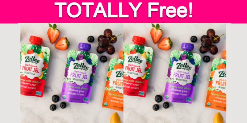 Possible Totally Free Zellee Fruit Jels!