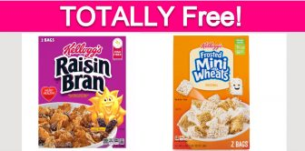 Totally Free Cereal!