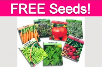 Totally Free Vegetable Seeds!
