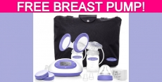 Totally FREE Breast Pump!