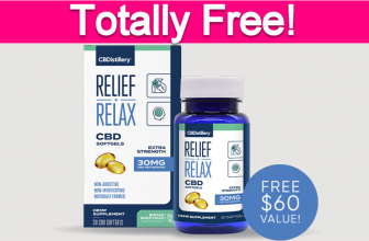 Totally Free CBD Softgels!