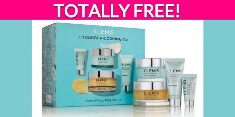 Totally Free Elemis Skincare Products!
