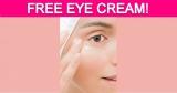 Totally Free Eye Cream!