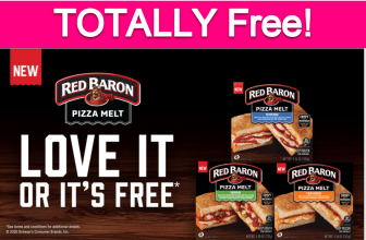 Totally Free Red Baron Pizza Melt!