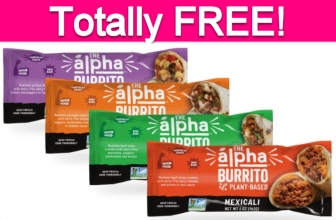 Totally Free Alpha Burrito!