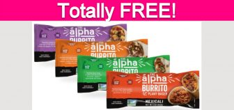 Totally Free Alpha Burrito!