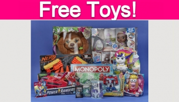 Possible FREE Hasbro Toys!