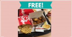 TOTALLY Free 8 Piece Nuggets at Chick-fil-A ! YUM!