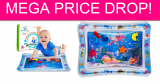 Inflatable Tummy Time Water Mat MEGA Price Drop!