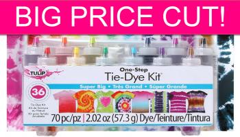 HOT PRICE! Tulip One Step Tye Dye Kit!