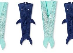 Mermaid & Shark Tail Wearable Blanket $9 at Target!