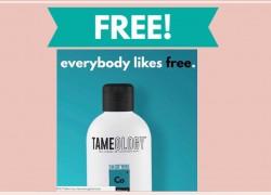 TOTALLY FREE Tamology Shampoo & Conditioner!