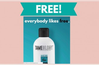 TOTALLY FREE Tamology Shampoo & Conditioner!