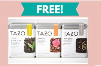 Tazo Tea Free Samples In the Mail!