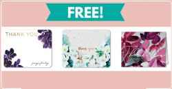 10 TOTALLY Free Personalized Thank You Cards!