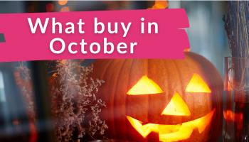 Best Things to Buy in October!