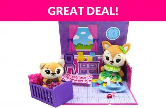 Tiny Tukkins Playset Assortment with Plush Stuffed Character
