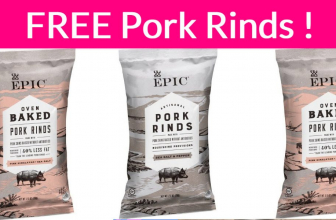 Totally FREE Bag of Pork Rinds !