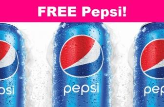 Totally FREE Pepsi! Easy!