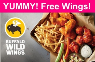 YUMMY! FREE Buffalo Wing WINGS!