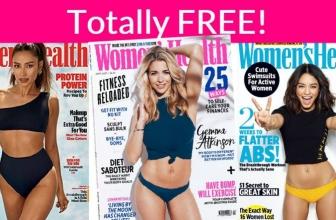 Free Subscription to Women's Health Magazine!