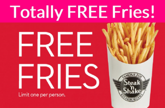 Totally Free Fries from Steak and Shake!