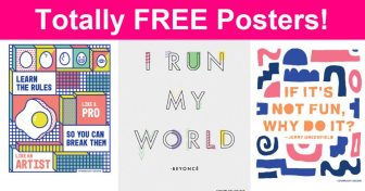 Totally FREE Inspirational Posters!