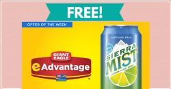 Yum! Get a FREE 12 oz Sierra Mist!