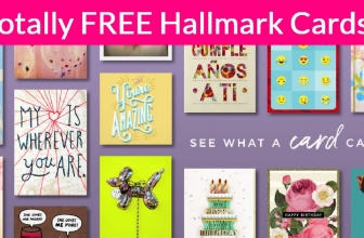 3 Totally free Hallmark Gift Cards BY MAIL!