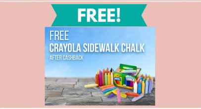 TOTALLY FREE Crayola 48 Count Sidewalk Chalk