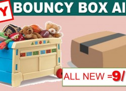 [ INSTANT WIN ] *** TOY *** Bouncy Boxes! ALL NEW 9/10