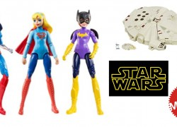 RUN! Star Wars, Mattel & More Toys On Sale from $4.80